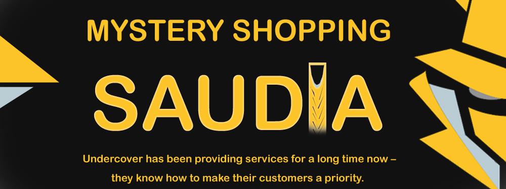 mystery shopping in Saudi Arabia